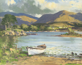 The Middle Lake, Killarney Giclee Print by Maurice Wilks