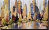 Urbania 101 Stretched Canvas Print by Robert Seguin