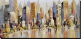 Urbania 100 Stretched Canvas Print by Robert Seguin