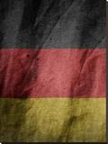 Germany Flag Stretched Canvas Print by  Wonderful Dream