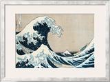 "The Great Wave Off Kanagawa, from the Series ""36 Views of Mt. Fuji"" (""Fugaku Sanjuokkei"") Prints by Katsushika Hokusai"