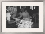 Mrs. Yaeko Nakamura and Family Buying Toys with Fred Moriguchi Prints by Ansel Adams
