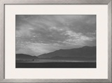 View Sw over Manzanar, Dust Storm Prints by Ansel Adams