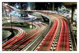 Chaotic Traffic Art by Koji Tajima
