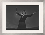 Baton Practice, Florence Kuwata Posters by Ansel Adams