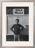 Help Wanted Art by Ansel Adams