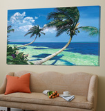 Beckoning Palms Prints by Scott Westmoreland