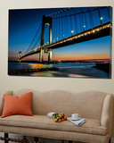 Verrazano Bridge Poster by Franklin J. Kearney