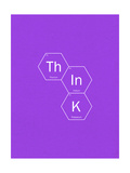 Think Giclee Print by Ali Michael