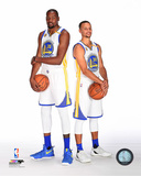 Kevin Durant & Stephen Curry 2016-17 Posed Photo