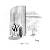 """Finish him."" - Cartoon Regular Giclee Print by Benjamin Schwartz"