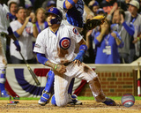 Javier Baez steals home Game 1 of the 2016 National League Championship Series Photo