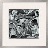 Relativity Art by M. C. Escher