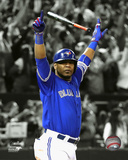 Edwin Encarnacion Game Winning Home Run 2016 American League Wild Card Game Spotlight Photo