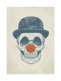 Dead Clown Giclee Print by Balazs Solti