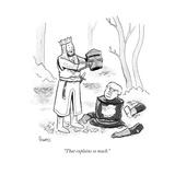 """That explains so much."" - Cartoon Regular Giclee Print by Benjamin Schwartz"