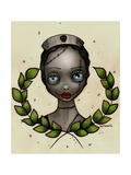Zombie Nurse Giclee Print by Abril Andrade