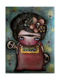 Mis Amigos Giclee Print by Abril Andrade