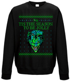 Crewneck Sweatshirt: The Joker - Tis The Season To Be Jolly Tričko