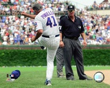Lou Piniella 2007 Action Photo