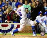 Javier Baez Home Run Game 1 of the 2016 National League Division Series Photo