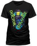 Dr Strange- Neon Magic (Slim Fit) Bluser