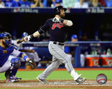 Jason Kipnis Home Run Game 3 of the 2016 American League Championship Series Photo