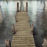 Annecy Pier Photographic Print by Alan Blaustein