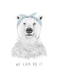 We Can Do It Giclee Print by Balazs Solti