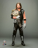 A.J. Styles with Championship Belt 2016 Photo