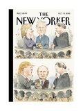The New Yorker Cover - October 31, 2016 Regular Giclee Print by Barry Blitt