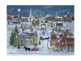 Christmas Homecoming Giclee Print by Bob Fair
