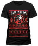 Harley Quinn - Distressed Holday Cheer Logo T-Shirts