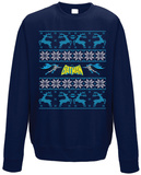 Crewneck Sweatshirt: Batman - Rushing Through The Holidays T-shirts