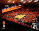 The Carrier Dome Record Breaking Crowd Syracuse Vs. Villanova with Overlay Photo