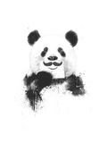 Funny Panda Giclee Print by Balazs Solti