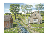Cottage Pathway Giclee Print by Bob Fair