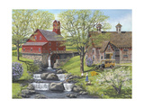 Picnic at the Mill Giclee Print by Bob Fair