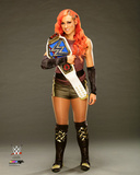 Becky Lynch with Championship Belt 2016 Photo