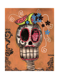 Day of the Dead Watermelon Giclee Print by Abril Andrade