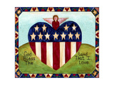 God bless the land I Love Lang 2018 Giclee Print by Cheryl Bartley