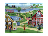 Putt Putt Inn Giclee Print by Cheryl Bartley