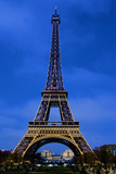 Eiffel Tower Blue Hour Photographic Print by Cora Niele