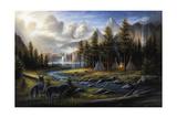Wild America Giclee Print by Chuck Black