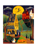 Halloween Trick or Treat Giclee Print by Cheryl Bartley