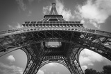 Eiffel 7 BW Photographic Print by Chris Bliss