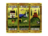 Bless our Home Love Friends Hope Lang Giclee Print by Cheryl Bartley