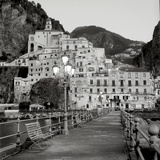 Amalfi Pier I Photographic Print by Alan Blaustein