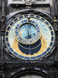 Prague Clock 1 Photographic Print by Chris Bliss