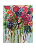 Flower Demo Giclee Print by Carrie Schmitt